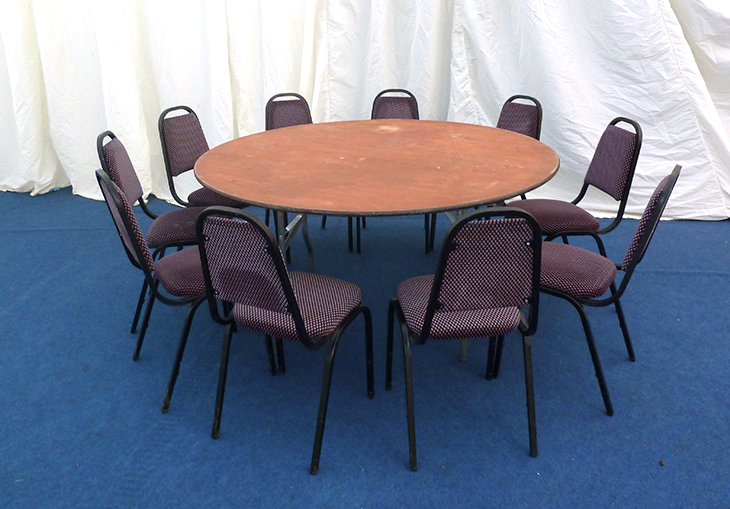5ft round table sesigncorp for 10 foot round table